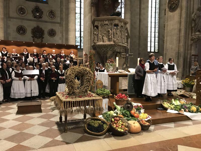 Erntedankfest 2019 Ulmer Münster